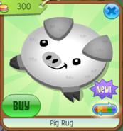 PigRug White(8)