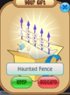 Haunted fence