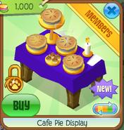 Cafe pie display 6
