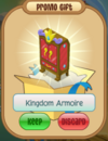 Kingdom armoire