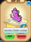 Spooky chaise lounge