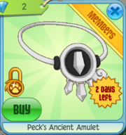 Peck's Ancient Amulet