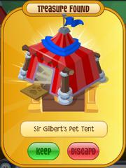 Sir Gilbert's Pet Tent