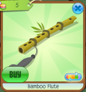Bamboo Flute Grey