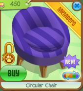 Shop Circular-Chair Purple