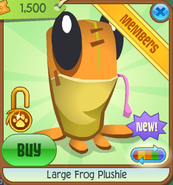 Large-Frog-Plushie Orange Shop
