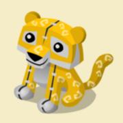 Item Exclusive Tiger Plushie yellow