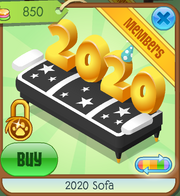 Black 2020 Sofa