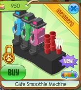 Cafe smoothie machine 5