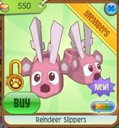 Reindeer slippers5
