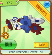 Rare Freedom Flower Tail