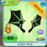 Eclipse Wings green