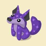 Item Exclusive Coyote Plushie purple-star