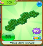 Mossy Stone Pathway green