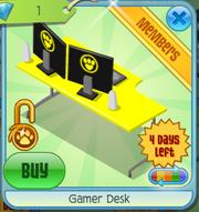 Gamerdeskyellow