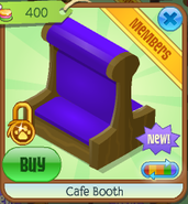 Cafe booth 7