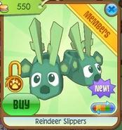 Reindeer slippers3