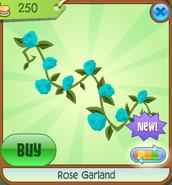 Shop Rose-Garland Blue