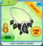 Liza's Ancient Amulet