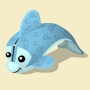 Item Exclusive Dolphin Plushie ice
