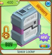 Shop Space-Locker Pink