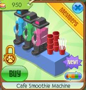 Cafe smoothie machine 1