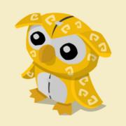 Item Exclusive Owl Plushie yellow