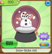 Pink Snow Globe Hat