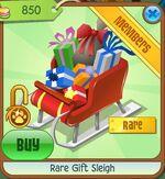 Rare Gift Sleigh