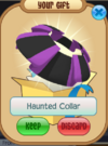 Haunted collar
