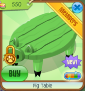 PigTable Green(3)