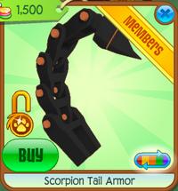 ScorpionTailArmor