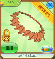 LeafNecklace-Orange