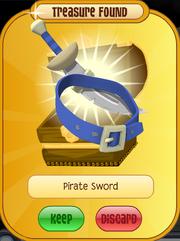 Meet-Cosmo Elephant Pirate-Sword Blue