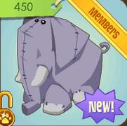 Museum-Den-Shop Giant-Elephant-Plushie
