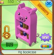 PigBookcasePink