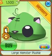 Large-Hamster-Plushie Green Shop