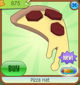 Pizza Hat Yellow