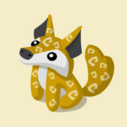 Item Exclusive Coyote Plushie yellow
