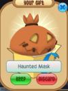Haunted mask
