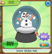 Blue Snow Globe Hat