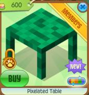 Pixelated Table 3