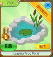 Leaping Frog Pond