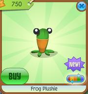 Frog-Plushie Green Shop