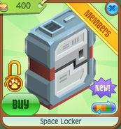 Shop Space-Locker Red