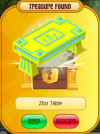 ZiosTable