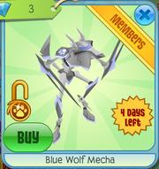 Blue Wolf Mecha