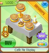 Cafe pie display 7