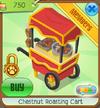 Chestnut roasting cart