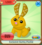 Exclusive bunny plushie 7
